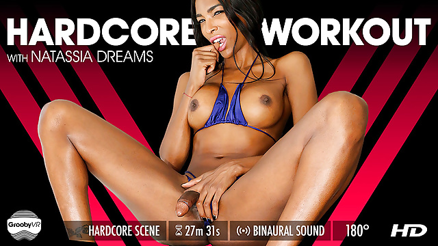 Grooby VR – Natassia Dreams in Hardcore Workout